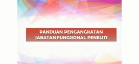 PANDUAN PENGANGKATAN JABATAN FUNGSIONAL PENELITI
