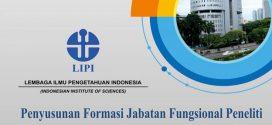 Penyusunan Formasi Jabatan Fungsional Peneliti