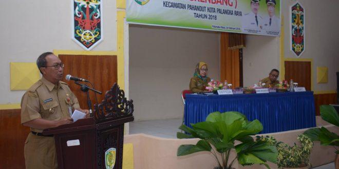 Musrenbang Kecamatan Pahandut Terima 126 Program Prioritas Kelurahan