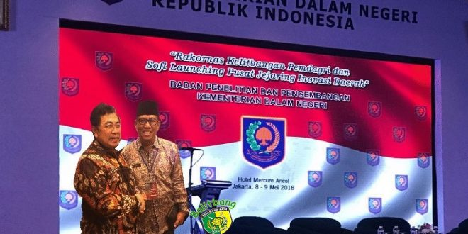 Penguatan Kelembagaan Penelitian Dan Pengembangan Dalam Mendorong Inovasi Daerah Oleh Gubernur Sumatera Barat, Irwan Prayitno