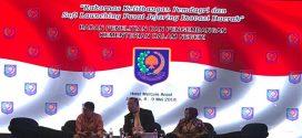 Kepala Balitbang Kota Palangka Raya, H. M. Barit Rayanto, S.Sos., M.Si, Menghadiri Rakornas Kelitbangan Pemerintahan Dalam Negeri Tahun 2018