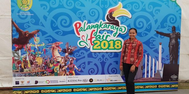 Foto Stand Pameran Kegiatan Palangka Fair Ke-53 dan Hari Jadi Kota Palangka Raya Ke-61, 27 Agustus 2018