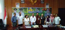 Seminar Akhir Kajian Ketahanan Pangan Rumah Tangga di Kota Palangka Raya Tahun 2018
