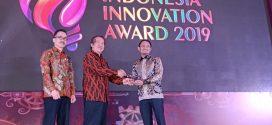 Walikota Palangka Raya Terima Penghargaan Indonesia Innovation Award 2019