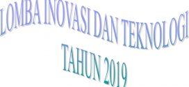 Dimulai Pendaftaran Lomba Inovasi dan Teknologi Kota Palangka Raya Tahun 2019
