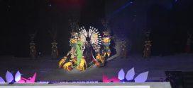 Tari Pedalaman Dari Kabupaten Pulang Pisau Dalam Festival Budaya Isen Mulang 2019