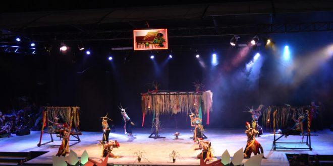 Tari Pedalaman Dari Kabupaten Barito Selatan Dalam Festival Budaya Isen Mulang 2019