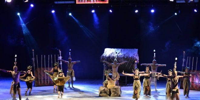 Tari Pedalaman Dari Kabupaten Katingan Dalam Festival Budaya Isen Mulang 2019