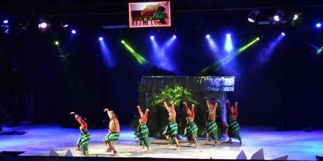Tari Pedalaman Dari Kota Palangka Raya Dalam Festival Budaya Isen Mulang 2019