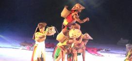 Tari Pedalaman Dari Kabupaten Sukamara Dalam Festival Budaya Isen Mulang 2019