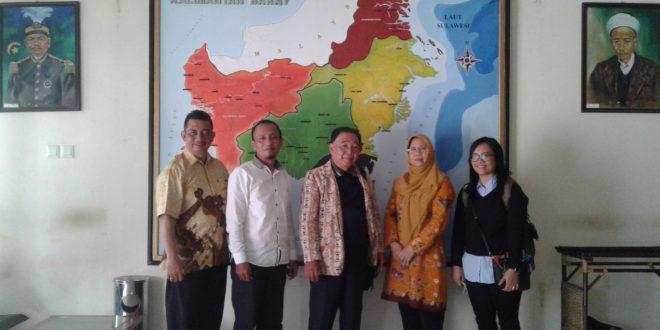 Foto Kaji Banding Bidang Sosial dan Pemerintahan ke BPNB Pontianak Kalimantan Barat, 23 Agustus 2018