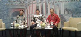 """Seminar Nasional Optimalisasi Penataan Ruang Kota Palangka Raya. """"Palangka Raya Kota Harati menyambut Wacana Pemindahan Ibu Kota Seminar Nasional Optimalisasi Penataan Ruang Kota Palangka Raya. """"Palangka Raya Kota Harati menyambut Wacana Pemindahan Ibu Kota, Tanggal 18 September 2018 di Jakarta"""