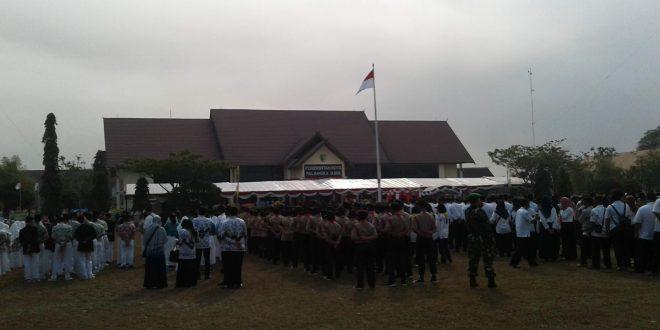 Upacara Peringatan Hari Jadi Ke-54 Pemerintah Kota Palangka Raya 17 Juni 2019 dan Hari Jadi Ke-62 Kota Palangka Raya 17 Juli 2019