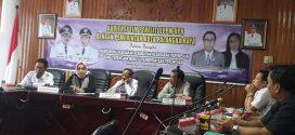 Audensi Tim Peneliti LPPM UPR Dengan Pemerintah Kota Palangka Raya, dalam Rangka Mendorong Kebijakan Perubahan Kesadaran Perempuan Yang Terencana Menuju Pemberdayaan Perempuan, Rabu 12 September 2018