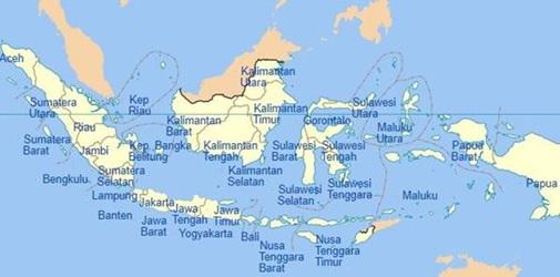 Foto : https://sujarman81.wordpress.com/2011/08/01/nama-nama-provinsi-dan-ibukotanya-di-indonesia/Markijar.Com